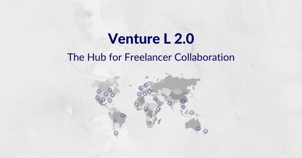 Venture L 2.0 – The Easiest Way To Collaborate With Your Freelancers